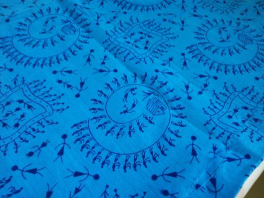 Warli Blue